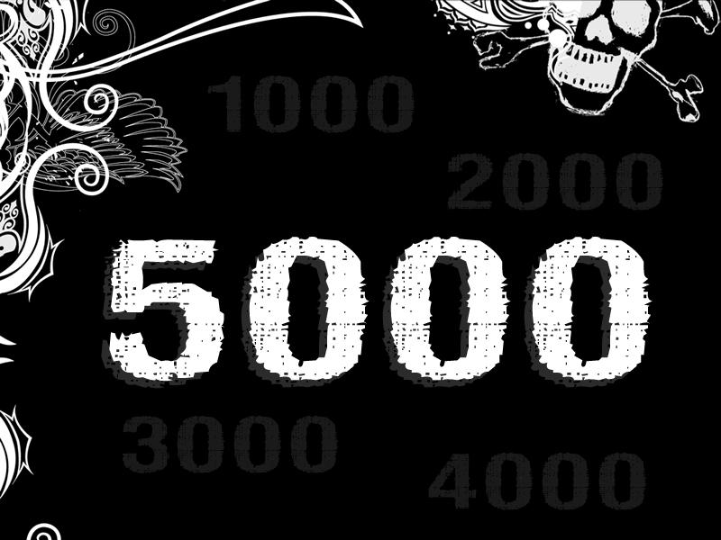 Valm Neira: 5000 anime oscure